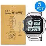 [5-Pack] For Casio AE-1200/AE-1300 Watch Screen...