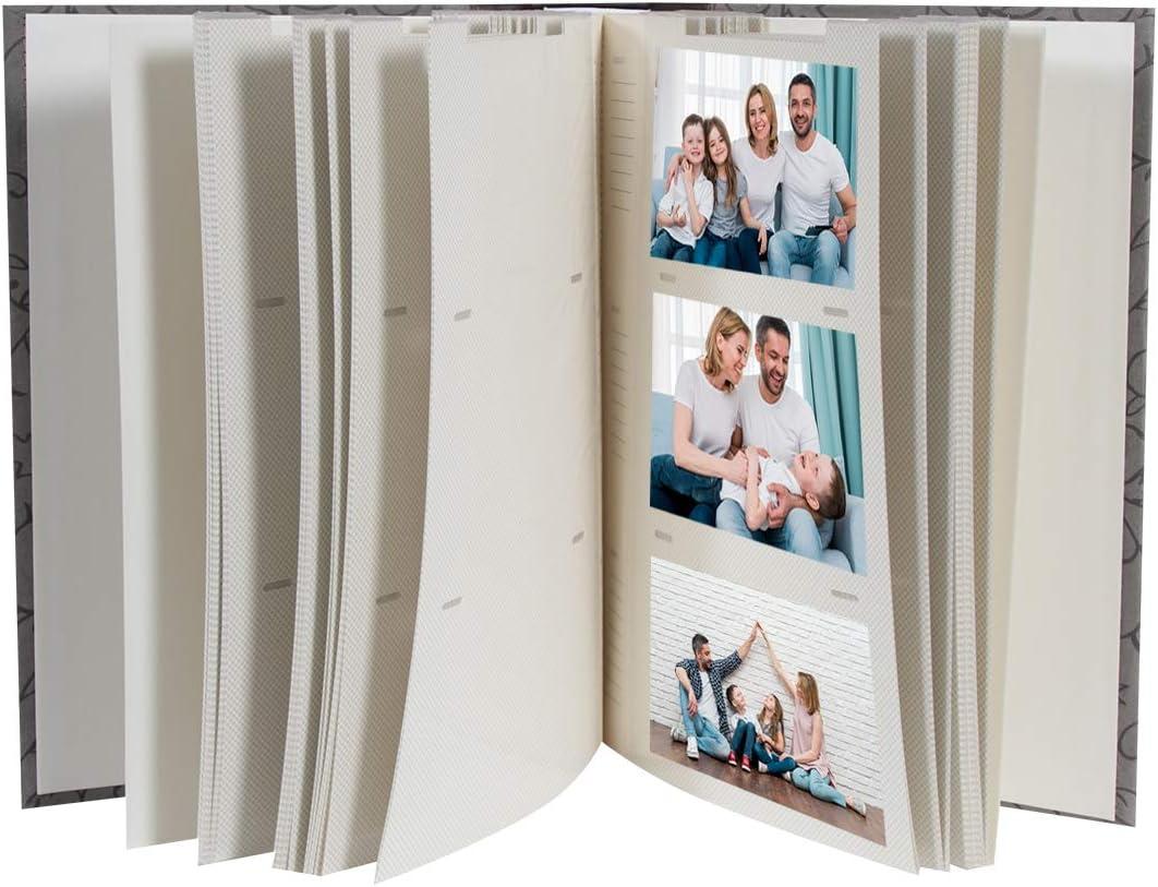 Lot de 2 Albums Photo Elegance /à pochettes 300 photos 10x15 cm