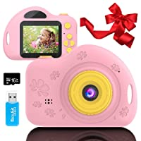 Toys for 4-6 Year Old Girls Kids Camera for Children Mini Camcorder with 1080P and...