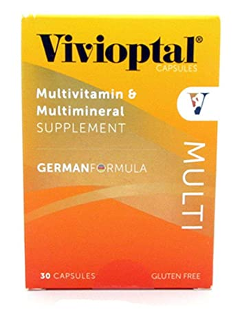 Vivioptal Multivitamin/Multimineral German Formula 30 Capsules