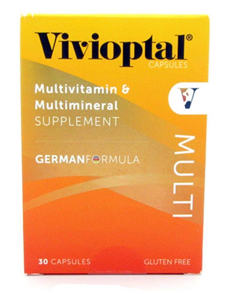 Vivioptal Multivitamin/Multimineral German Formula 30 Capsules