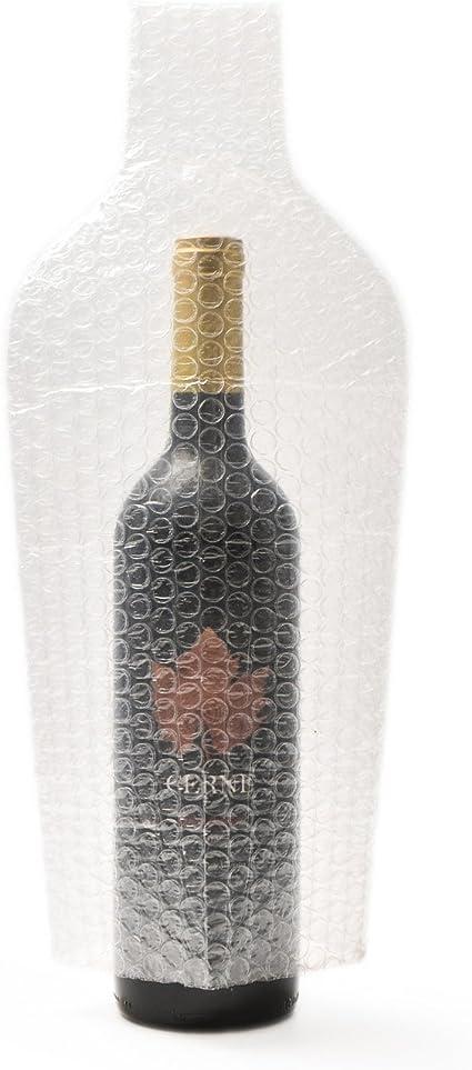 Paquete de 6 piezas Protector de Botellas de Vino Reutilizable,Garantizar la seguridad del transporte de botellas