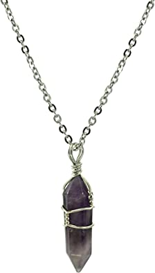Peruvian quartz lapisl\u00e1zuli and pirita stones  necklace handcrafted Energetic Stones