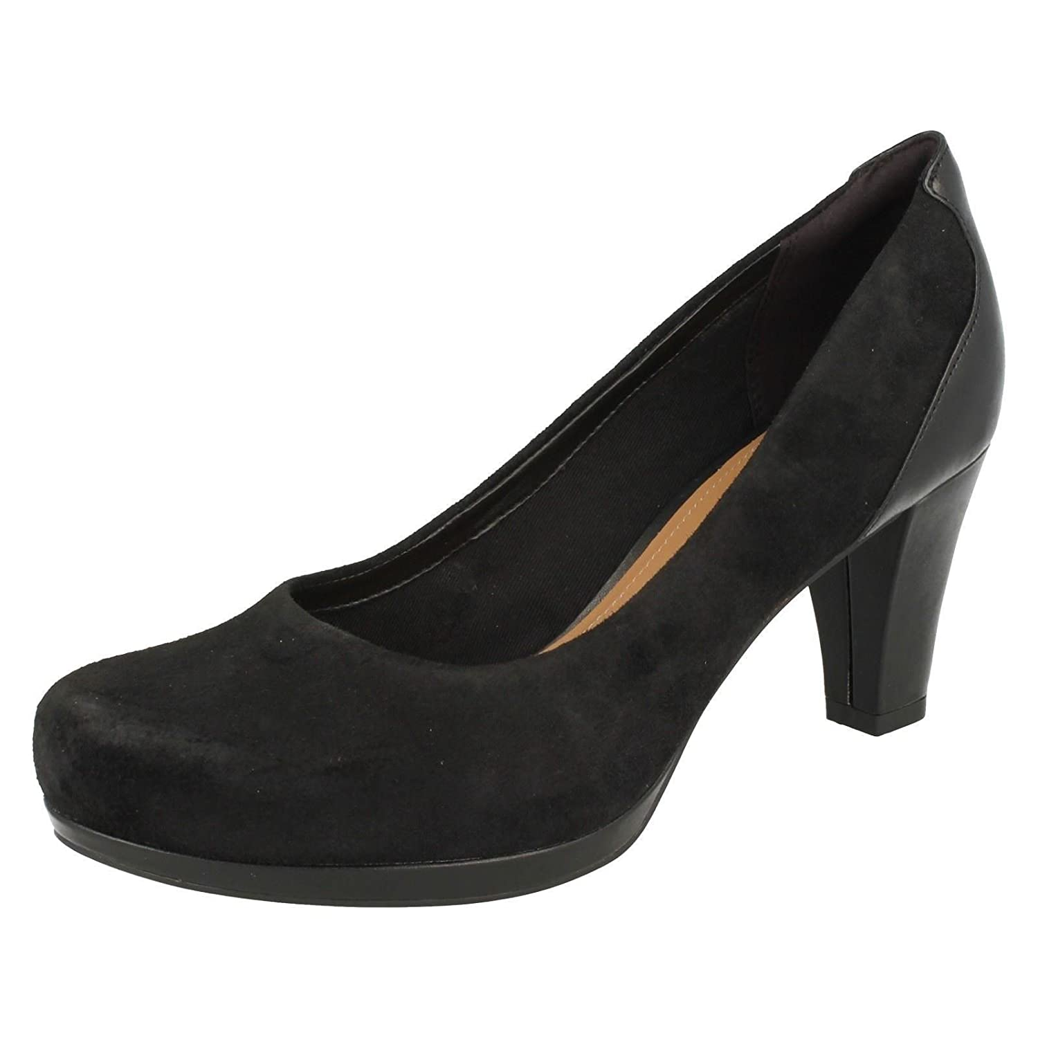 Clarks Pumps Damen Chorus Chic Pumps Clarks Schwarz a86be0
