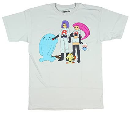 Pokemon equipo Rocket camiseta para hombre: Amazon.es: Ropa y ...