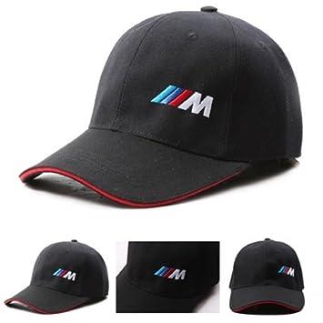 Algodón Negro M Logo, Rendimiento Coche/Motores BMW Sport Gorra de béisbol, diseño