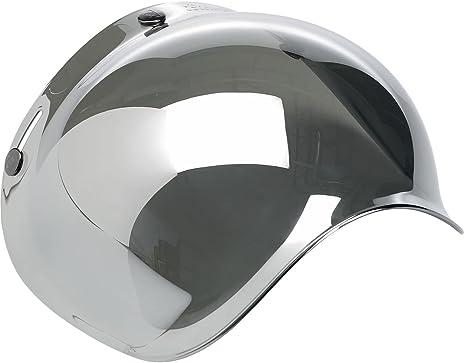 0602fbfd Amazon.com: Biltwell Smoke Tint Bubble Shield (Chrome Mirror, One ...
