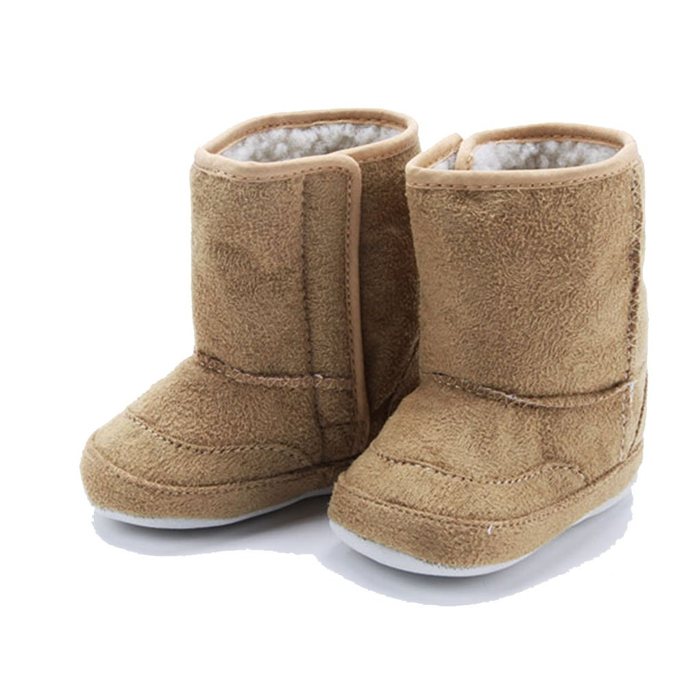 Shouhengda Baby Boys Girls Thicken Soft Non-Slip Sole Snow Boots