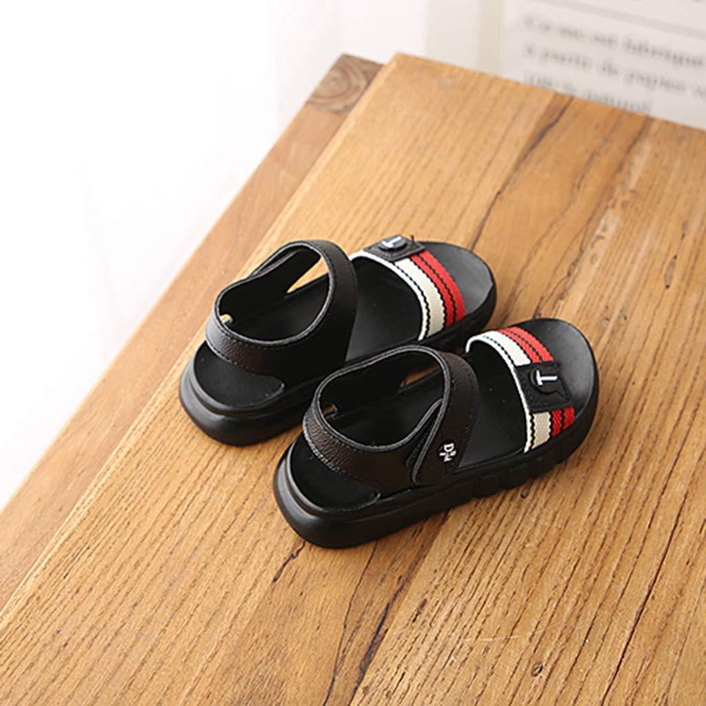 Kids Boys Girls Flat Casual Sport Sandals Shoes Sneakers Suma-ma Babys Soft Bottom Non-Slip Beach Sandals