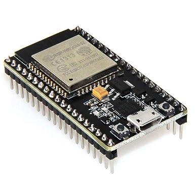 ESP32 ESP-32S ESP-WROOM-32 placa de desarrollo 2.4 GHz modo dual WiFi + Bluetooth Dual Cores Microcontrolador procesador integrado con antena RF AMP filtro AP STA para Arduino IDE: Amazon.es: Industria, empresas y