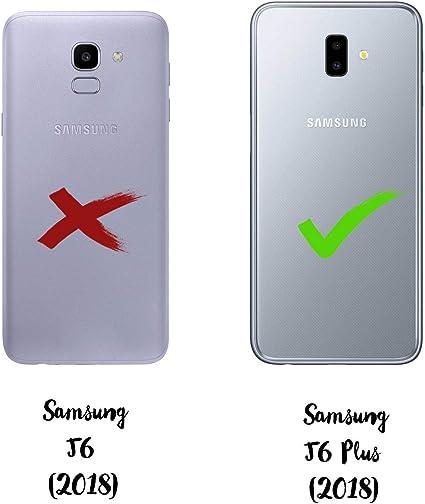 dakanna Funda para Samsung Galaxy J6 Plus | Motocross | Carcasa de ...