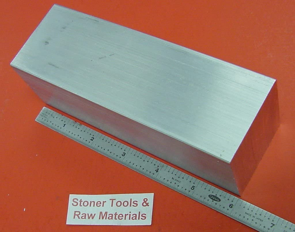 "1-1//2/"" X 8/"" ALUMINUM 6061 FLAT BAR 18/"" LONG T6511 Solid Mill Stock Plate 1.50/"""