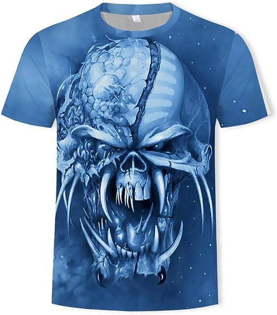 Camisetas Iron Maiden 3D Impreso Street Fashion Ropa De ...