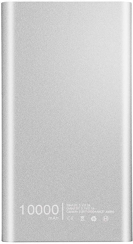 Charberry 2019 Ultrathin 10000mAh Portable USB External Battery Charger Power Bank