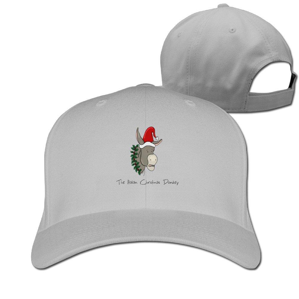 The Italian Christmas Donkey Best CapsStrapback Hat at Amazon Men\'s ...