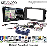 Volunteer Audio Kenwood Excelon DNX994S Double Din Radio Install Kit with GPS Navigation Apple CarPlay Android Auto Fits 2007-2008 Ram, 2006-2007 Chrysler 300