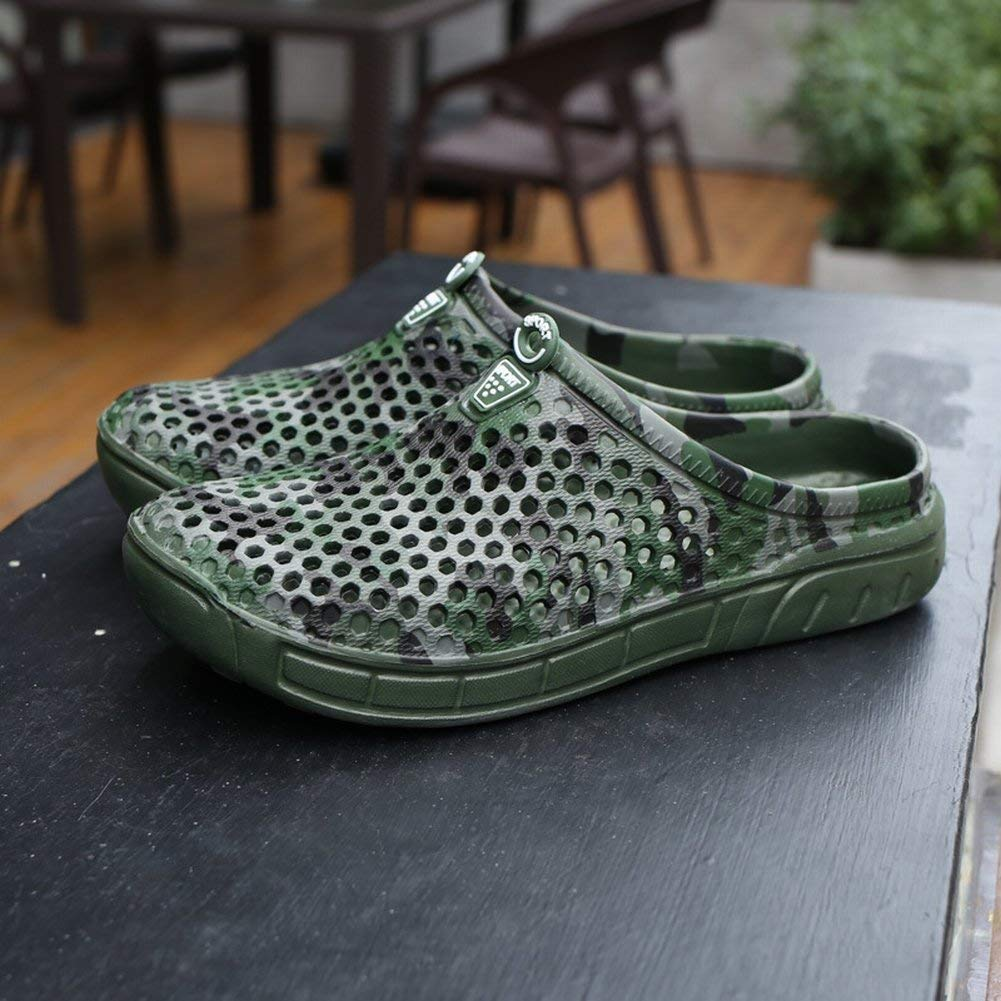 HhGold Zapatillas de Camuflaje a a a la Moda Sandalias Hive Confort Pedales Antideslizantes Zapatos de Hombre (Color : Tarnung, tamaño : 43) e81fb2