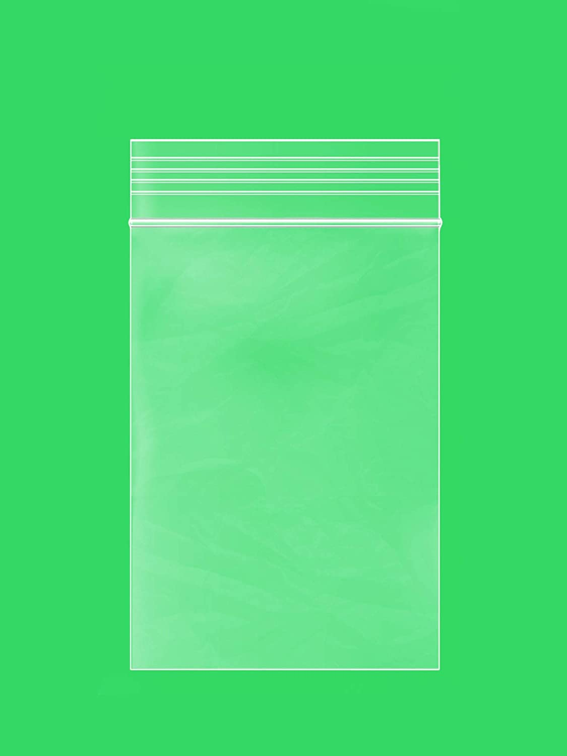 "Clear Plastic Reusable ZIPLOCK Bags - Bulk GPI Case of 1000 1.5"" x 2"" 2 mil Thick Strong & Durable Poly Baggies with Resealable Zip Top Lock for Travel, Storage, Packaging & Shipping."