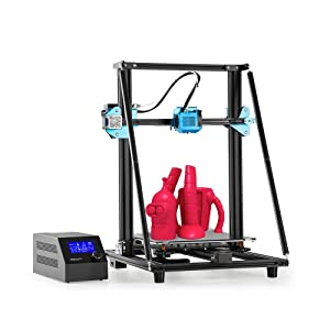 Creality CR-10 V2 FDM 3D Printer with All Metal Extruding Unit Dual Cooling Fan Silent Motherboard Meanwell Power Supply 300x300x400mm