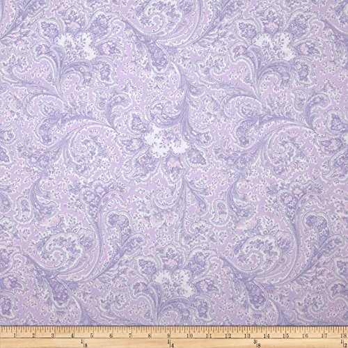 108in Wide Quilt Back Rosemont Malabar Violet Fabric By The (Violet Quilt Fabric)