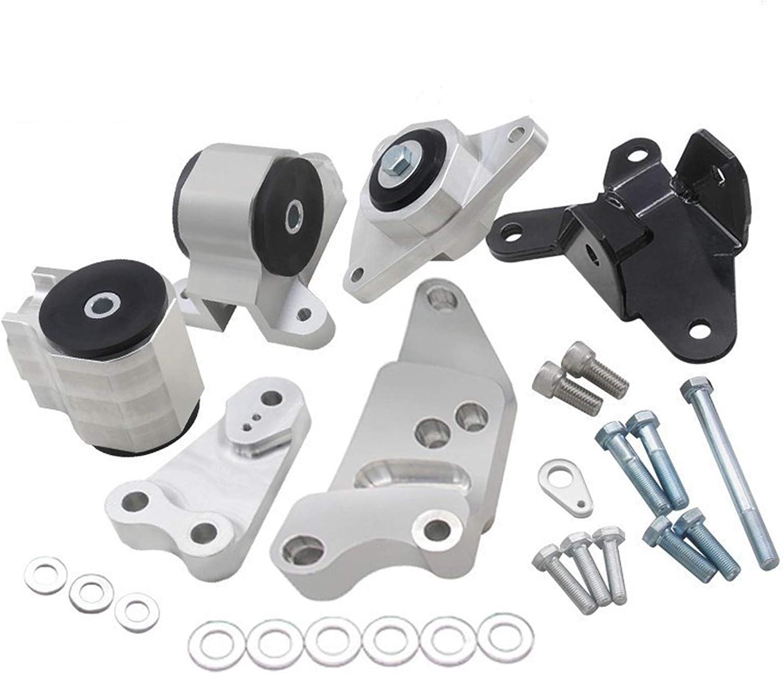 ZYTANG® Nuevo Kit de Montaje de Intercambio de Motor de reemplazo Fit para HO/NDA Civic SI 02-06 Fit para Acura RSX 70A Motor Motor Mounts K20 DC5 EP3 (Color : Without Logo)