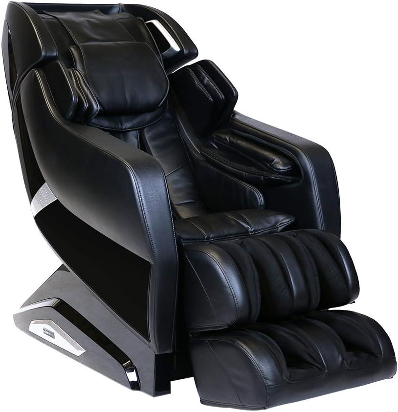 Infinity Riage X3 - Full Body Zero Gravity 3D Massage Chair - Body Scanning, Compression, Lumbar Heat, and Shiatsu Technique- Black
