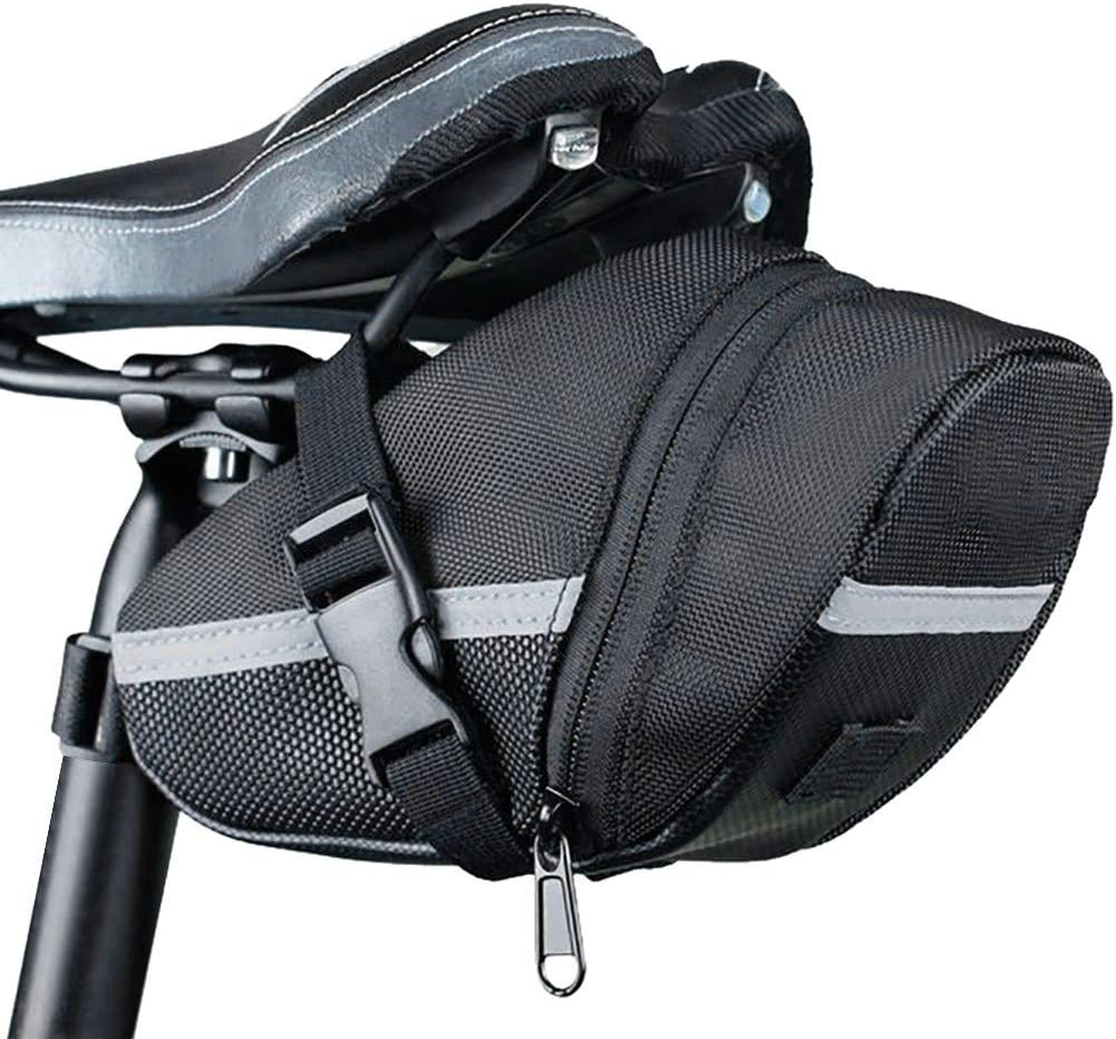 Bicycle Waterproof Storage Saddle Bag Bike Seat Cycling Rear Pouch Sport New