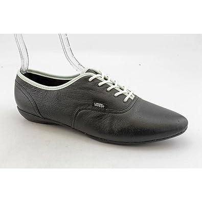 b707cc3f3f Vans Womens Sophie Oxfords Leather Black White 10 M US