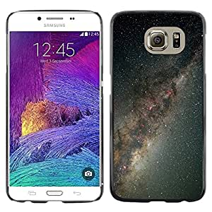 Stuss Case / Funda Carcasa protectora - Gray Miscroscopic Stars - Samsung Galaxy S6
