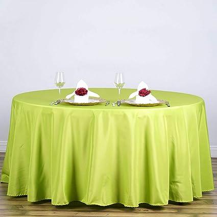 Amazon Com Mikash Polyester Round Tablecloth Decoration