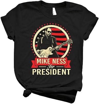 MIKE NESS FOR PRESIDENT Black T-Shirt Clothing