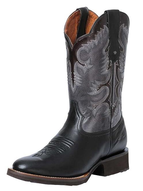 Bota Rodeo ID 40506 Rio Grande (BR) Mcallen Liga Negro (7)
