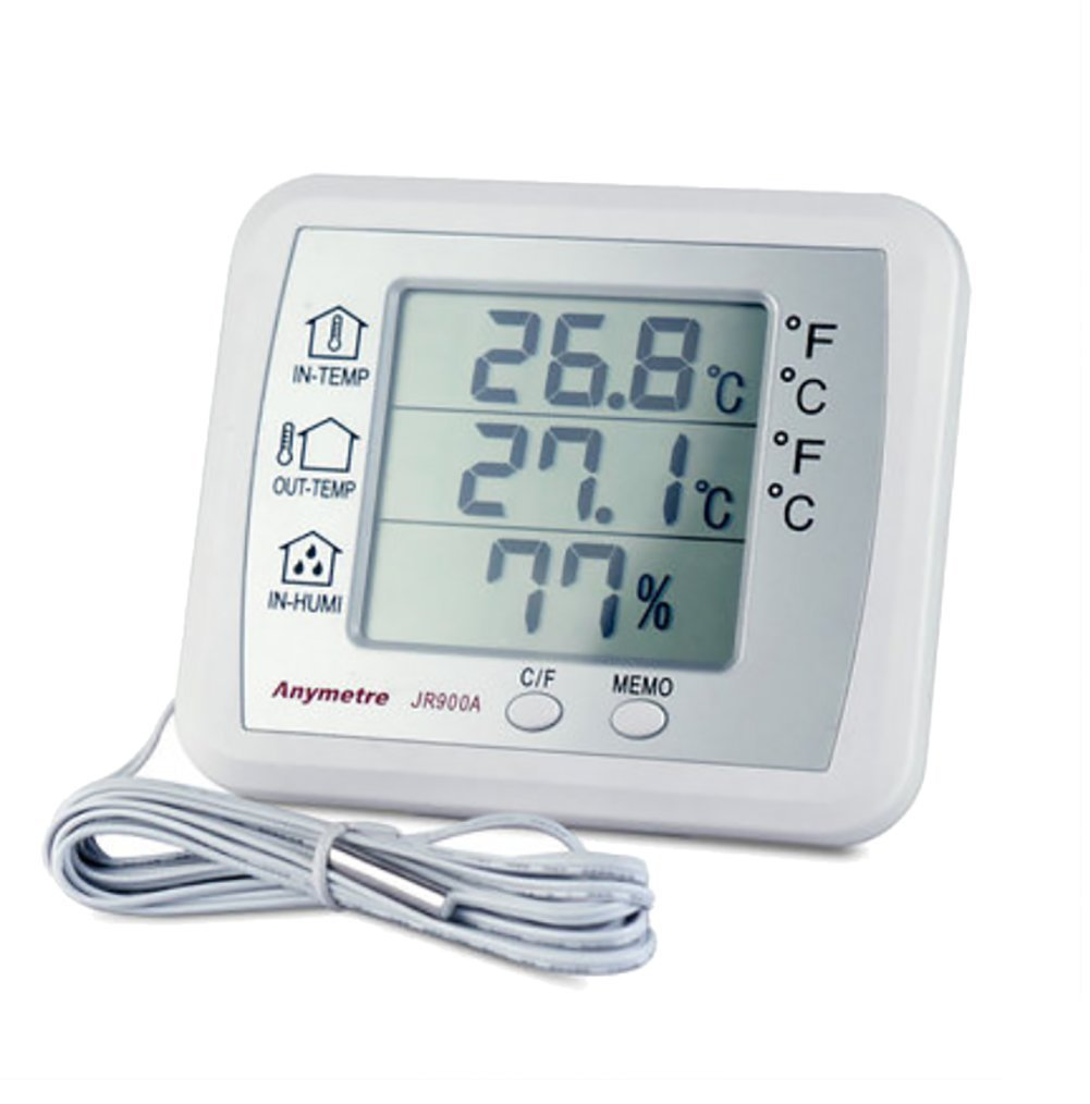 RUIX Thermo-Hygrometer Home Indoor Baby Room High-Precision Multi-Function Digital Display
