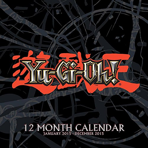 2015 YuGiOh Wall Calendar National Entertainment Collectibles (2015 Wall Calendar National)