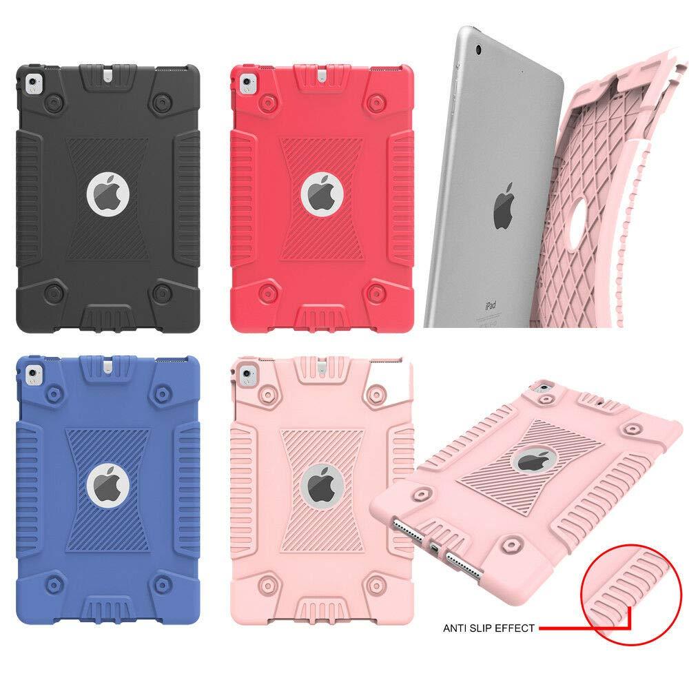 【残りわずか】 FidgetGear 10個/ロットのネジ形状耐衝撃性シリコーンゲルソフトケースfor 2 iPad/ Amazon iPad Air iPad/Air 2/ iPad 9.7用
