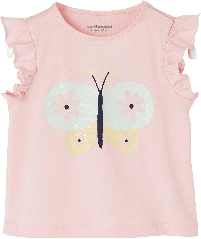 Manches Courtes T-Shirt B/éb/é Fille Twins 112802//AMZ