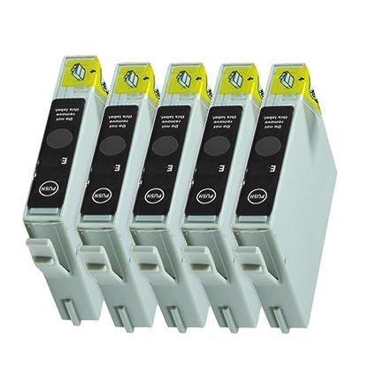 5 Cartuchos de Tinta para Epson Stylus D68 D88 DX3800 DX3850 ...