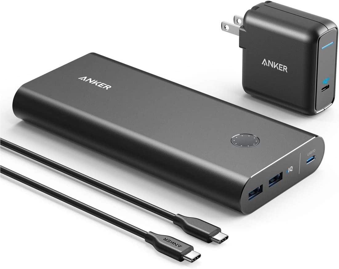 Anker PowerCore+ 26800mAh PD 45W with 60W PD Charger, Power Delivery Portable Charger