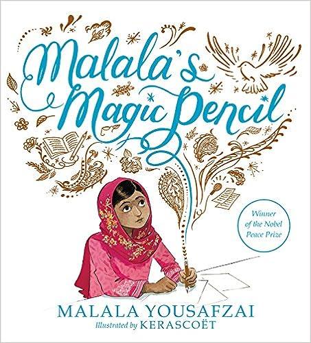 cover image, Malala's Magic Pencil