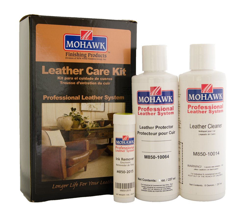 Mohawk Finishing Products This Supplies You with The Tools Mohawk Leather Care Kit by Mohawk Finishing Products