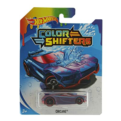 Hot Wheels Color Shifters Chicane, Purple: Toys & Games
