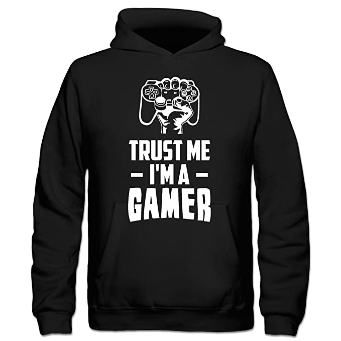 Sudadera con capucha niño Trust Me Im A Gamer by Shirtcity