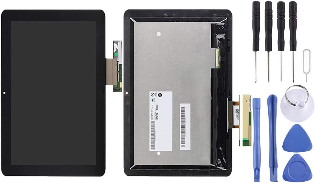 Dishikun Superior LCD Screen and Digitizer Full Assembly for Acer Iconia Tab A210 10.1 inch (Black)