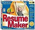 Resume Maker Deluxe Edition 9 (Small Box)