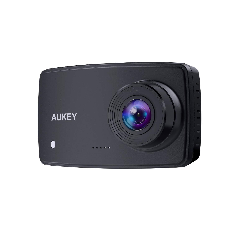 AUKEY Cámara de Coche, Dash CAM 1080P Full HD Cámara para Coche con Detección De
