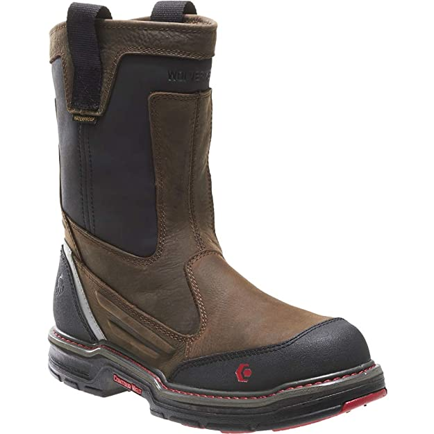 2ff9940378e Wolverine Men's Overman Nano Toe 10 Inch Waterproof Contour Welt Work Boot