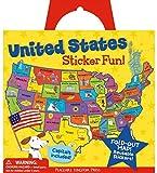 Peaceable Kingdom Award Winning Sticker Fun! United States Reusable Sticker Tote