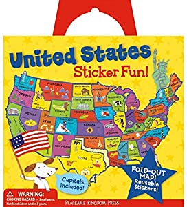 United States Reusable Sticker Tote