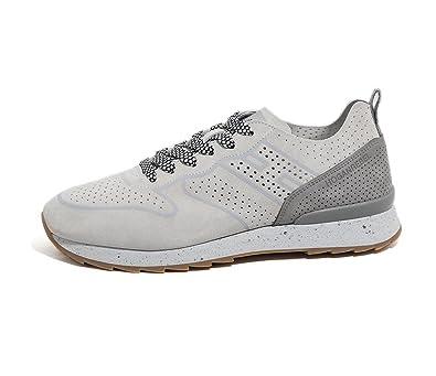 8579c310037be Hogan Rebel Scarpe Uomo Running R261 HXM2610X030FNC0XUE Pelle PE17   Amazon.co.uk  Shoes   Bags
