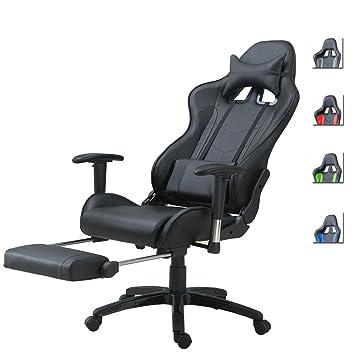 Delman Racing Burostuhl Gaming Chair Schreibtischstuhl Drehstuhl